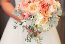Peach and coral wedding colors inspirations