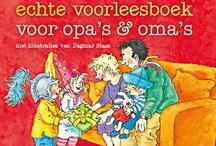 Het enige voorleesboek voor opa's & oma's / Deze vrolijke bundel staat boordevol nieuwe avonturen van het mannenkoor, Kobus en Kwak, varken, beer en olifant, en allerlei andere bekende figuurtjes uit de grote voorleesboeken van deze auteurs. Opa's en oma's zullen volop genieten van deze bundel, want zij spelen een belangrijke rol in dit boek. Zo maakt opa Brom weer van alles mee in de kleuterklas en maakt de lezer kennis met de wel heel excentrieke oma Wortelbloem.
