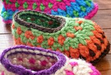 Booties and slippers crochet