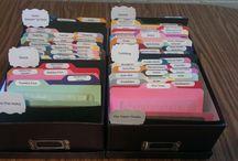 Card Organization