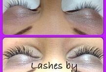 Eyelash Extensions / Lashes by Fashion Fingers!