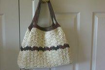 Bits o' String- Crochet Bags