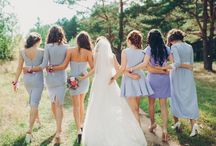 wedding / wedding dress bridemaid bride
