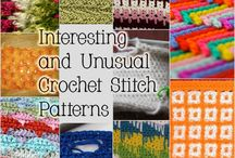 Crochet stitches / by Sophia Bradford
