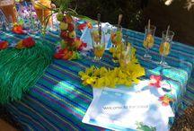 Hawaii / Party theme ideas - Hawaii