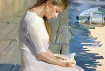 Lezende vrouwen