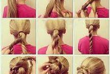 peinados faciles / son los peinados mas fa siles recogidos y semirecogidos