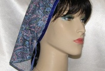 Mimkhatah - Kerchiefs - Bandanas / Mimkhatah (Hebrew for kerchief) head coverings are great for casual or elegant wear - for tzniut (modesty), Shabbat candle-lightings, Synagogue, Bar/Bat Mitzvahs, Wedding Guests, Candle Lighting, Kiddish - all Religious/Traditional Occasions.  Extremely comfortable - so lightweight you will forget you have it on, yet gives great coverage for those looking for modest wear!   Also a good start for the woman who is just beginning to cover.