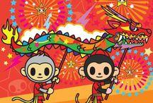 Tokidoki monkey