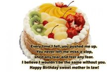 Happy Birthday Mother In Law / To celebrate her birthday, send her Happy Birthday Mother In Law Birthday Quotes. Here is a nice collection of happy birthday mother in law quotes. - http://www.myhappybirthdaywishes.com/happy-birthday-mother-in-law-quotes/