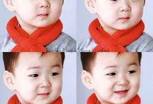 Triplets (Dae Han, Min guk, Man se) Cute ❤