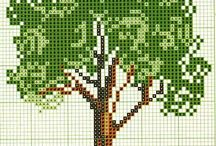 Coed cross stitch / by Catrin Lewis