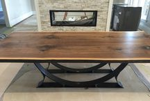 mobilier lemn plus metal