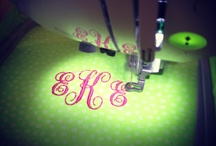 Embroidery Machine / by Janice- A Pile of Possibilities