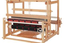 Schacht Floor Loom Weaving