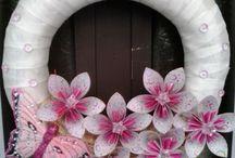 Kusudama virág / Papírból készült virágok :)