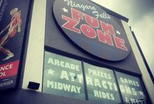 Niagara Falls Fun Zone / Located inside the Four Points by Sheraton Hotel, a short walk from our location.