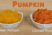 PUMPKIN RECIPES / by Sunee Stevens