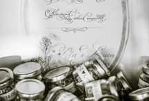 Wedding stationery by the Fanatic Calligrapher