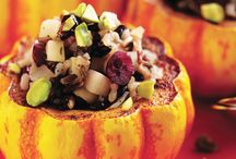 Squash Recipes / It's squash season! This veggie is yummy and provides a good source of manganese and vitamin C, plus it contains respectable amounts of folacin, vitamin A, dietary fiber, potassium and copper. Try these squash-loaded recipes. / by Health Monitor