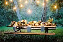 Dining al Fresco / Dining al Fresco, outdoor dining / by Andi Kuck