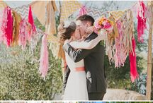 Colorful Backdrops for Ceremony