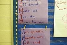 Synonyms/antonyms / by Kelly Wintemute