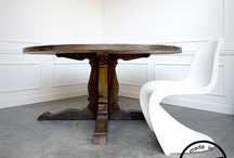 Reclaimed Wood Round Table / by Reclaimed Wood, Inc.