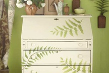 Home Decor:  Painted/Decoupaged