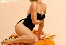 Art. Pin Up