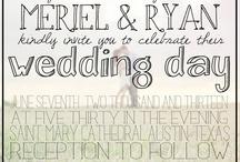 WEDDING / by Heidi Huchel Drake