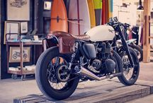 Locomotive Dreams / The motorcycles and cars that tickle my fancy.