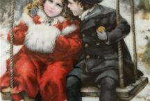 Картинки. Открытки новогодние и рождественские