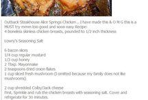 this weeks recipe / food / by Callie Locke