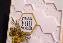 Stampin up Hexagon Hive