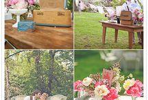 Bruiloft / Inspiratie voor de aankleding van de bruiloft
