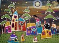 paisajes de casas