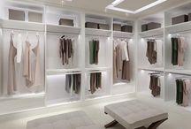 decoração pin - closet