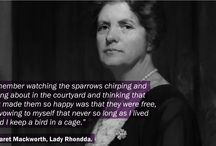 Notable Women of Wales / Promoting the achievements of Welsh women throughout herstory..
