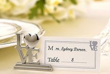 Love Wedding Favors / Express the love you and your sweetie share to your wedding guests by giving the love wedding favors! View the full selection at www.WeddingFavors.org / by Wedding Favors