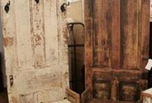 Antique door projects