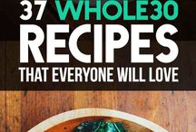 Whole 30 / Starting the Whole 30? Here are great recipes to inspire you and keep you on track during your Whole 30 month!