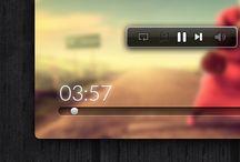 flat app design