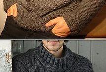 Муж свитер