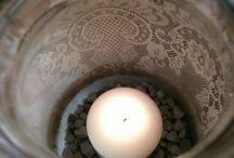 My DIY Jar Creations / Jar decoration handmade by me!