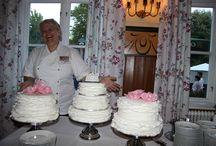 Bröllop på Wienercafét i Ronneby / En Designad Unik Tårta ! Närproducerat mathantverk från Kustvägen