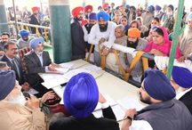 Sangat Darshan program in the Bassi Pathana