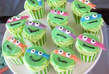 Ninja Turtle Birthday Party / by Carlea Bauman