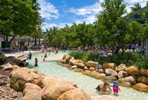 holiday places and activities for families in South East QLD