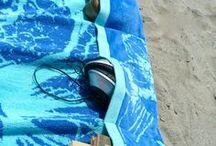 toalla playa con bolsillos